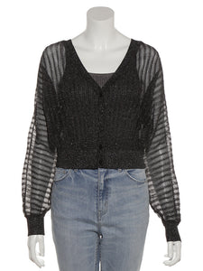 Sparkle Knit Cardigan (SWNT192084)