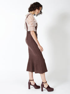 Knit Jumper Skirt (SWNS185104)