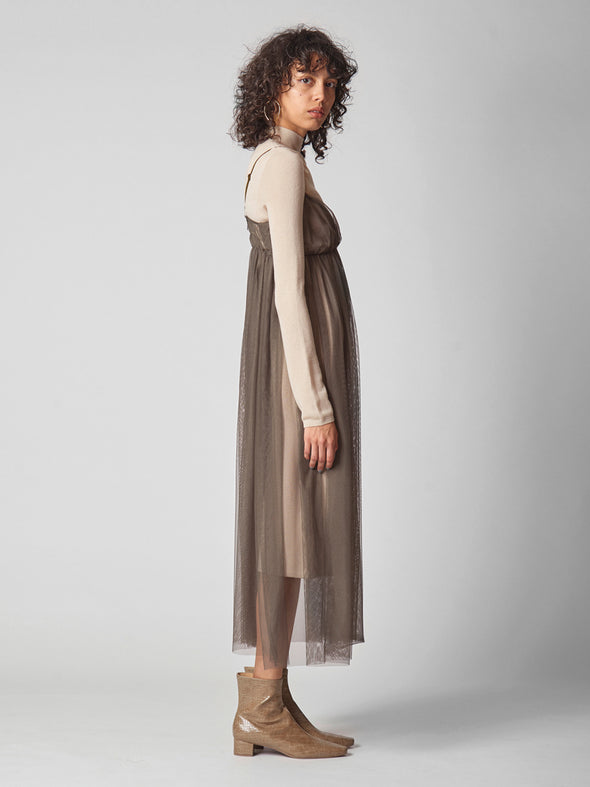 Camisole Layer Knit Dress