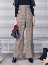 Load image into Gallery viewer, High Waisted Wide Pants (SWFP185115)