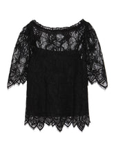 Load image into Gallery viewer, Lace Patterned Blouse