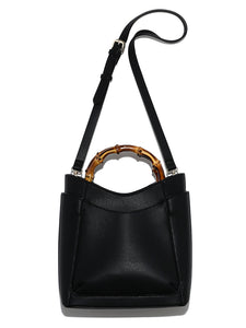 Bamboo Handle Styled Shoulder Bag (SWGB192602)