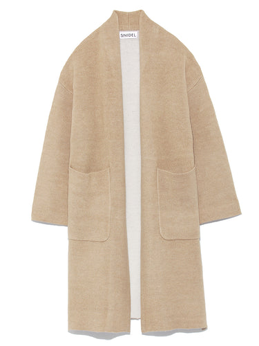 Double Face Long Cardigan (SWNT185147)