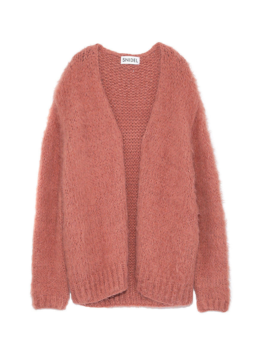 Shaggy Mohair Cardigan (SWNT185053)