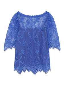 Lace Patterned Blouse