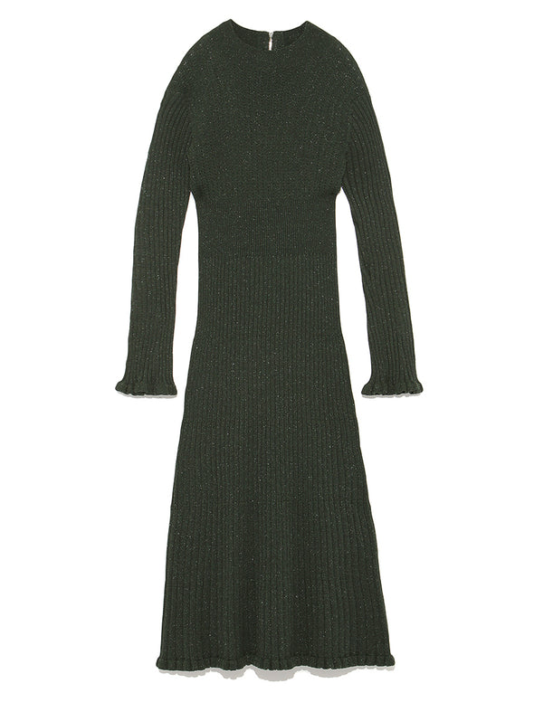 Rib Knit Long Dress