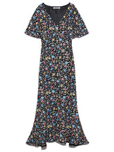 Load image into Gallery viewer, Variations Printed Gown Dress