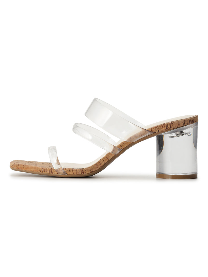 Summer Clear Heel Sandals (SWGS192645)