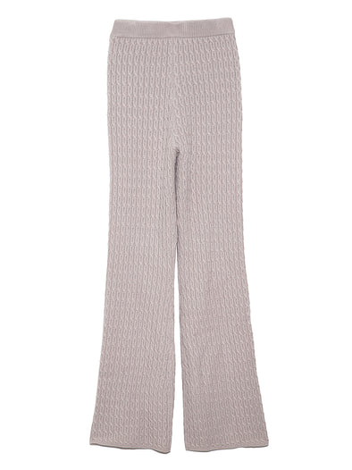 Cable Knit Pants