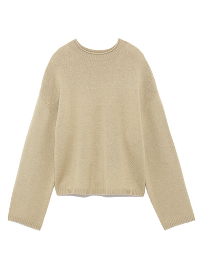 Organic Knit Pullover