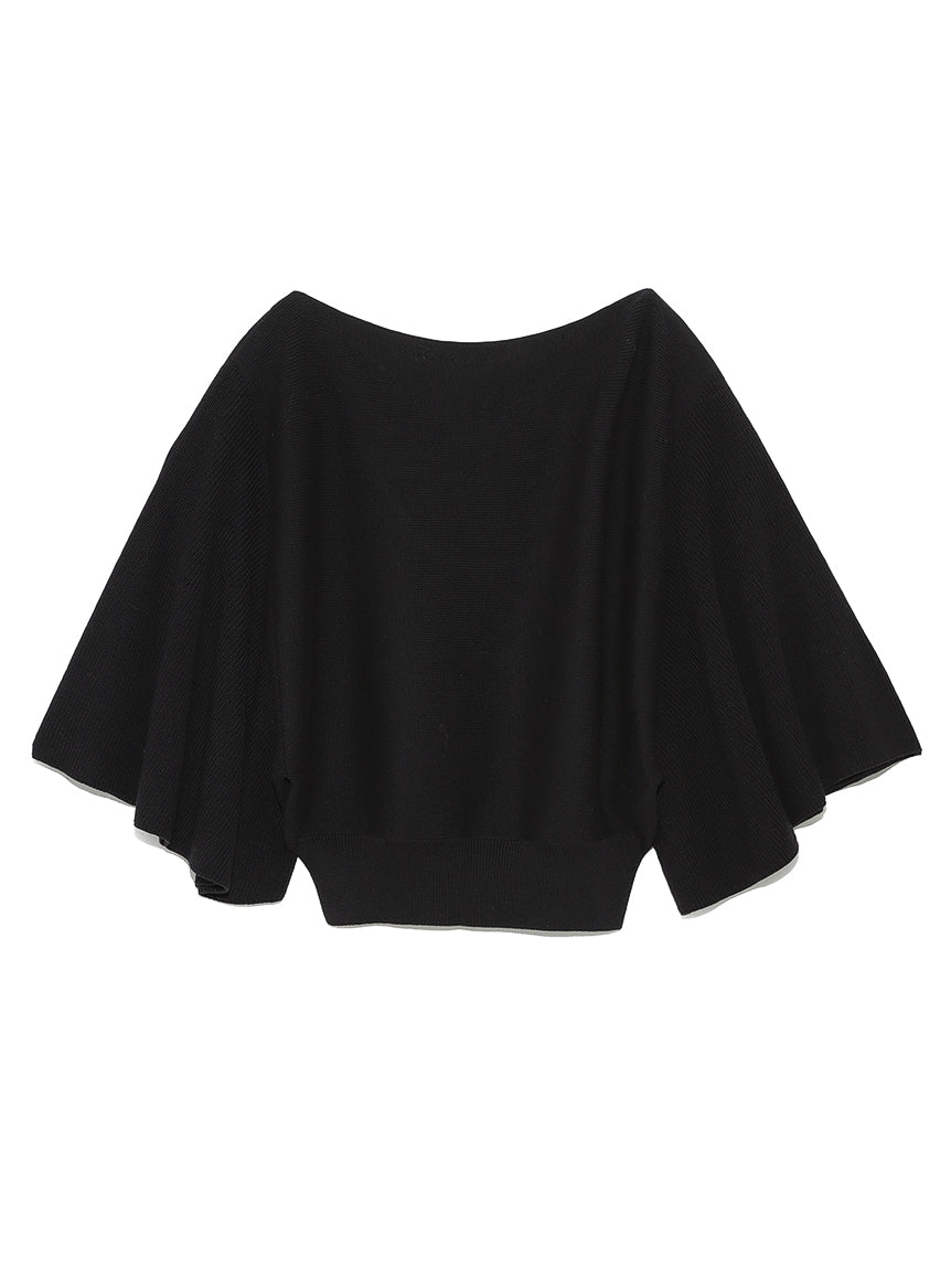 Flared Sleeve Dolman Knit Pullover (SWNT191107)
