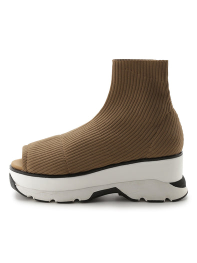 Open-toes Sneaker Style Boots