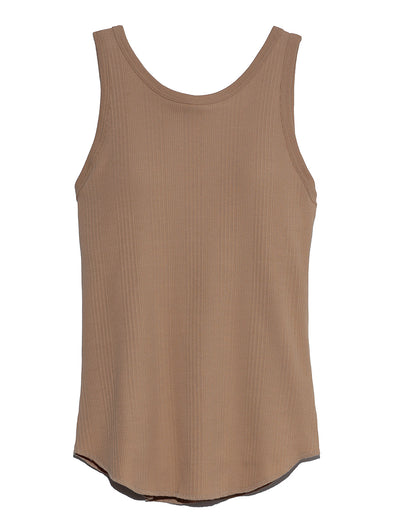 Sustaina Cup-in Ribbed Tanktop