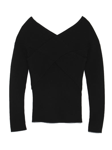 Simple Rib Knit Top