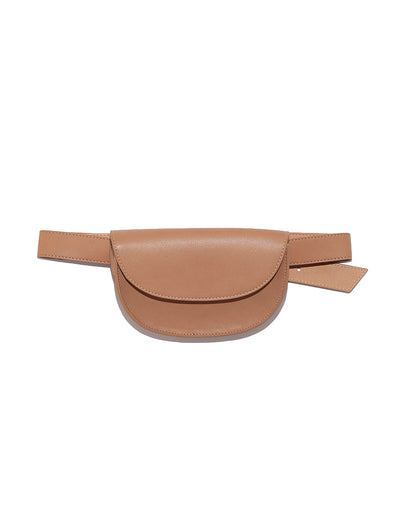 Belt with pouch