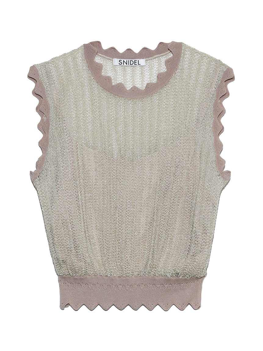 Sparkle Non-Sleeve Tops (SWNT192075)