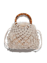 Load image into Gallery viewer, Braided Bamboo Mini Bag