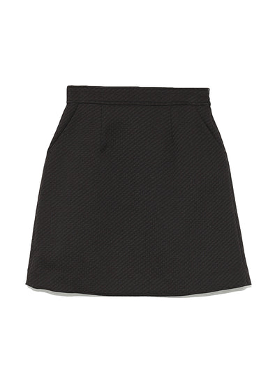 Square Mini Skirt