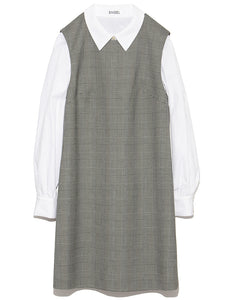 Peter Pan Collar Dress (SWFO184056)