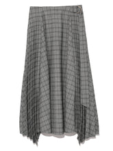 Load image into Gallery viewer, Pleated Wool Skirt (SWFS184021)