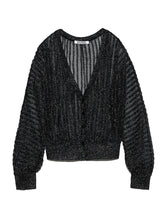 Load image into Gallery viewer, Sparkle Knit Cardigan (SWNT192084)