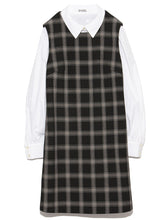 Load image into Gallery viewer, Peter Pan Collar Dress (SWFO184056)