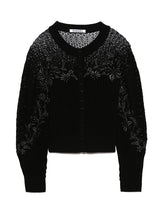 Load image into Gallery viewer, Detailed Knit Lace Cardigan (SWNT192083)