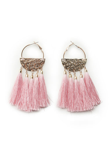 Fringed Earrings (SWGA192662)