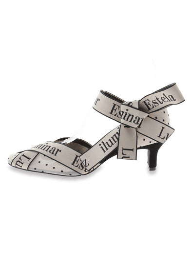 Logo Ribbon Pumps