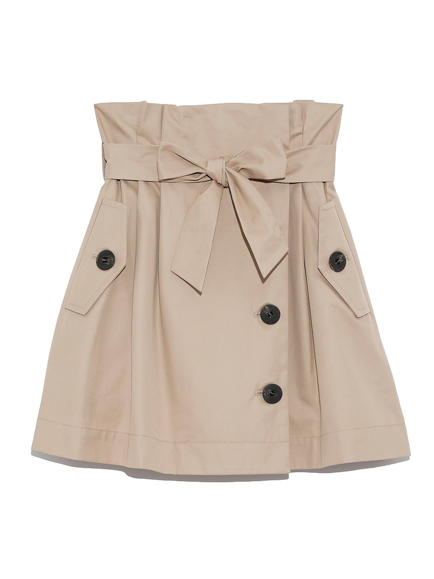 Trench Style Mini Skirt (SWFS192099)