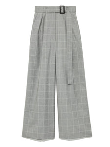 Check Patterned Wide Pants (SWFP184170)