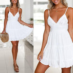 MINI SLIM WITH LACE BEACH PARTY DRESS