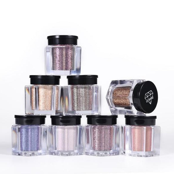 SHIMMER LOOSE HIGHLIGHTER WATERPROOF POWDER CONTOURING BRONZING SHADOW NUDE 3D EYES POWDER