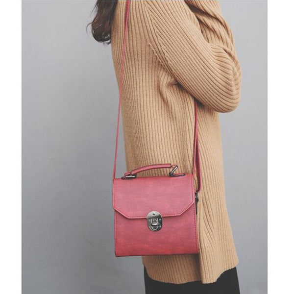 SEXY MINI RETRO FLAP HANDBAG AND SHOULDER BAG