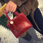 SEXY RETRO TASSEL FLAP HANDBAG AND SHOULDER BAG