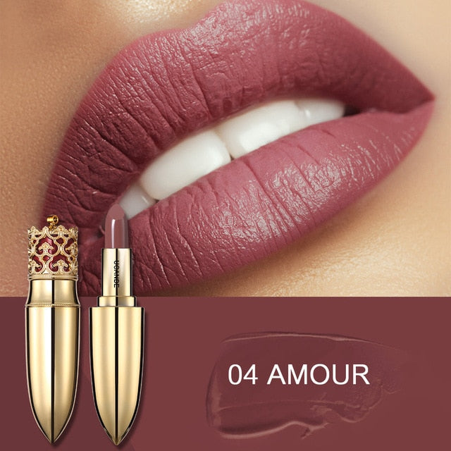 5 COLOR NUDE LONG LASTING PIGMENT NATURAL LIPSTICK