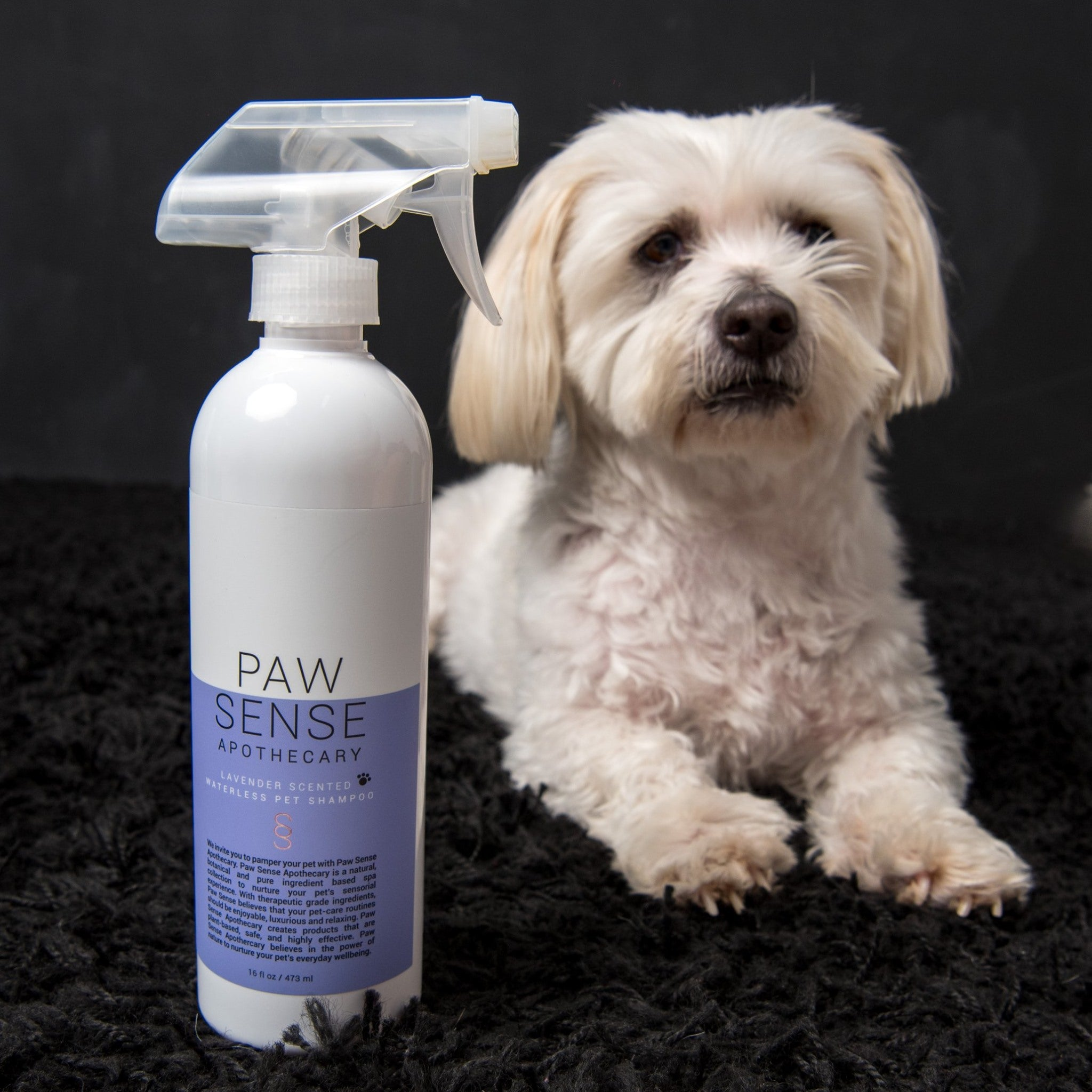 Lavender Scent All-Natural Waterless Pet Shampoo 473ml