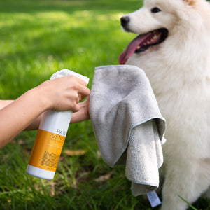 Oatmeal Mango Scent All-Natural Waterless Pet Shampoo