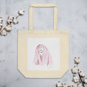 Eco Tote Bag - Cheveux barbe à papa