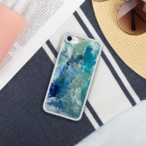 Liquid Glitter Phone Case - Océan