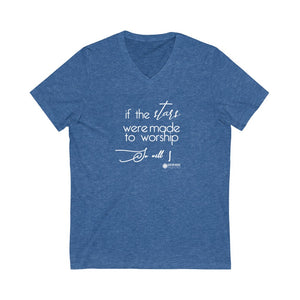So Will I Unisex V-Neck Tee