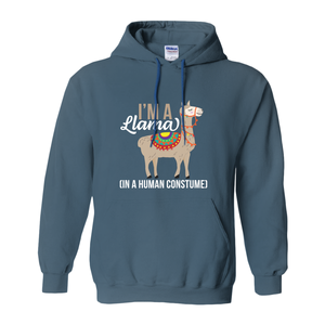I am a Llama Hoodies (No-Zip/Pullover) [product_type]