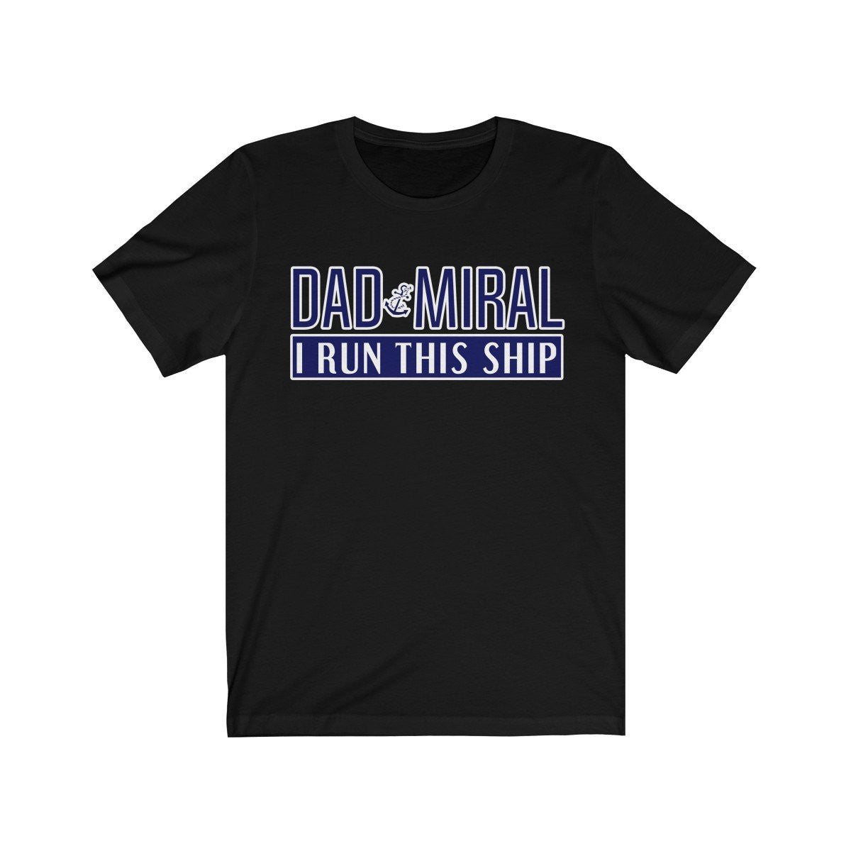 Dad-miral  Men's Tee T-Shirt