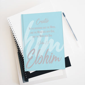 Elohim Journal - Ruled Line