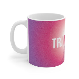 Transformed // Breakthrough // White Ceramic Mug Mug
