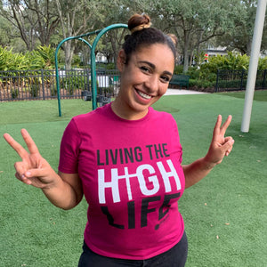 Living the High Life Unisex T-Shirt [product_type]