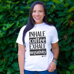 Inhale Coffee Unisex T-Shirt [product_type]