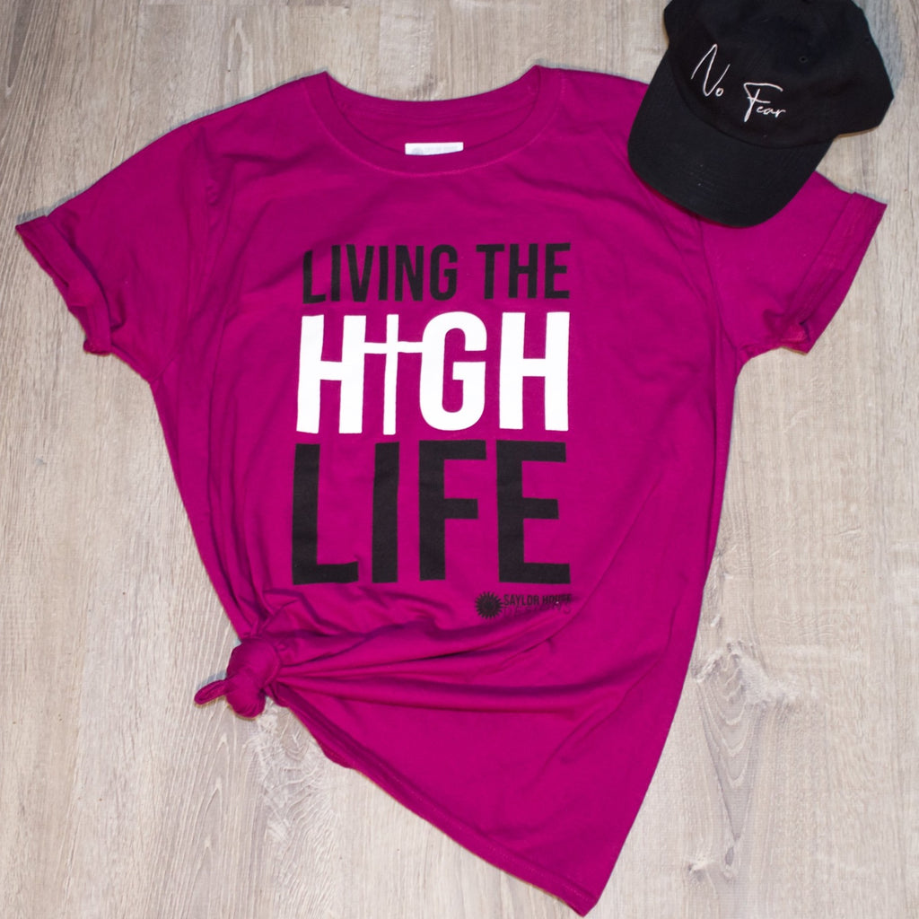 Living the High Life Unisex T-Shirt