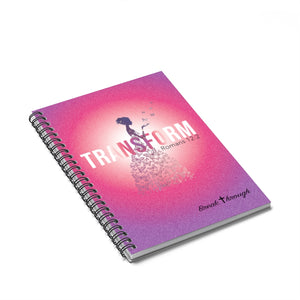 Transformed Journal // Breakthrough // Spiral Notebook - Ruled Line Paper products