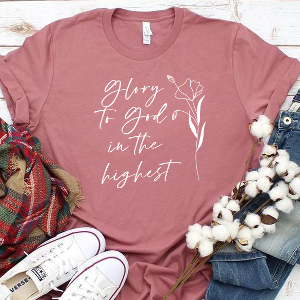 Glory to God in the Highest Unisex T-Shirt
